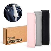 Tampen Gurtpolster Set · 2 Stück · für Erwachsene und Kinder · hochwertig verarbeitet · universelle Größe · Maschinenwaschbar · Doppelpack