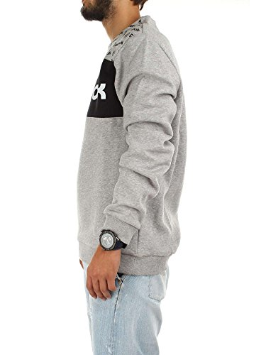 Reebok F Gr Crewneck, Felpa Uomo Medium Grey Heather