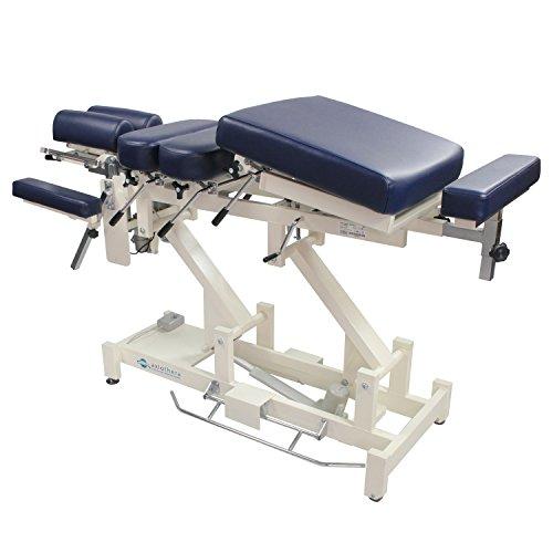 Chiropraktik-Liege für professionellen Einsatz CHIROMA - 8-teilig - Rundumbügel - bis 225kg belastbar   axiothera