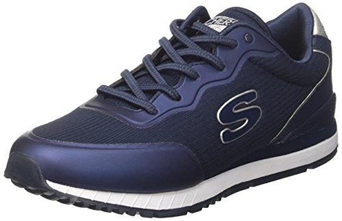 Skechers Sunlite-Vega, Sneaker Infilare Donna Blu (Navy)