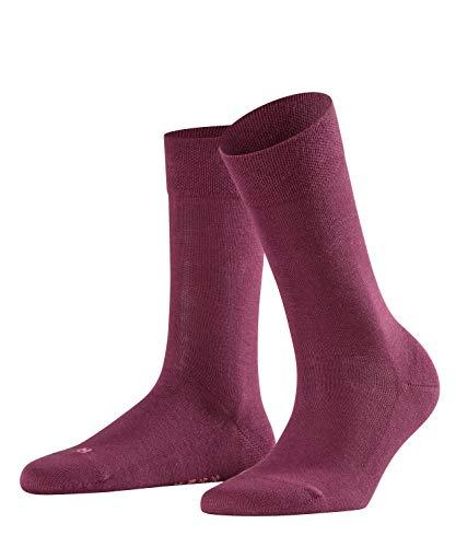FALKE Sensitive London Damen Socken pinot noir (8727) 39-42 mit druckfreiem Komfortbund