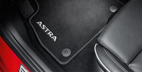 Opel Original Astra K Tapis Velours 39056505