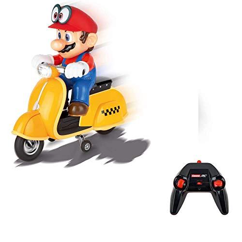 2,4GHz Super Mario Odyssey (TM) Scooter, Mario - CARRERA RC FULL FUNCTION