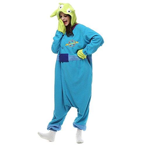 Kostüm Inc Mike Für Monsters Erwachsene - VU Roul Anime Kigurumi Erwachsene Kostüme Pyjama, Einteiler S Gr. Large, Sangan