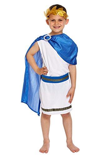 Augustus Caesar Kostüm - KOSTÜM KINDER CÄSAR JUNGE GROß 10-12 JAHRE