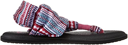 Sandales W Yoga Sling 2 Sanuk - Gris Raspberry Lanai Blanket