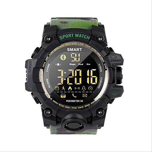 GGOII Reloj Inteligente Reloj Militar de Camuflaje Reloj Digital para Correr Reloj...