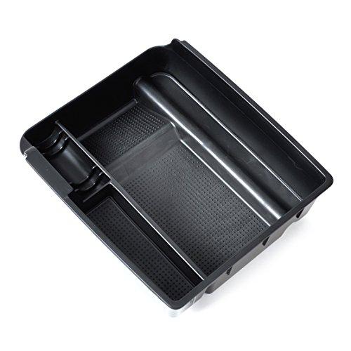 Innen Schwarz Kontrolle Armlehne Lagerung Sekundär Handschuh Box organisiert Container (Organisiert Box)
