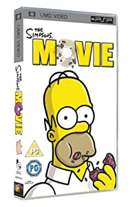 the simpsons movie umd mini for psp amazoncouk dvd