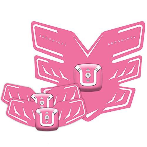 Better Angel Electroestimulador Muscular Abdominales Masajeador Eléctrico Cinturón, Abdomen/Brazo / Piernas/Cintura Entrenador Muscular, USB Recargable,Certificado CE (Hombre/Mujer) BA
