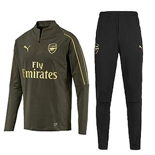 Arsenal 1/4 Zip Trainingsanzug - grün 2018 2019 - XS