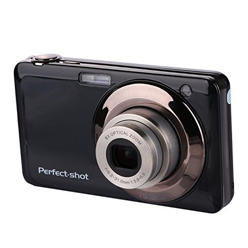powerlead gapo G051 6,9 cm TFT 3 x Optischer Zoom 18 MP 1280 x 720 HD-Smile Capture Digital Video Kamera