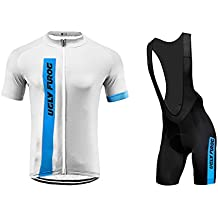 Uglyfrog Bike Wear De Manga Corto Maillot+Bib Pantalones Cortos Ciclismo Hombre Bodies Tights with