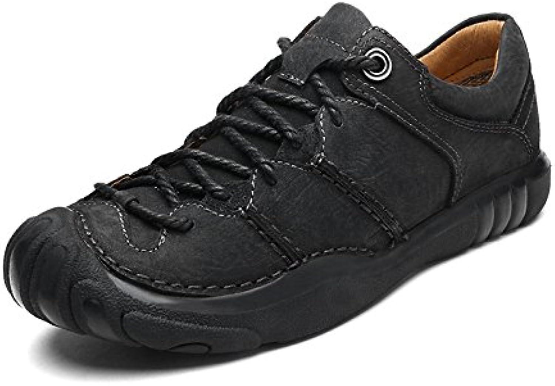 Oxford Schuhe Männer Casual Schuhe Atmungsaktive Wanderschuhe Leichte Schuhe Gummisohlen Zehenstampfer Wanderschuhe