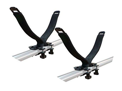 Kfz-Dachträgerleisten, zur Montage, Halter für 1 Kajak, universelle Passform -