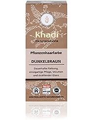 Khadi - Teinture aux Plantes - Coloration Permanente - Marron Foncé