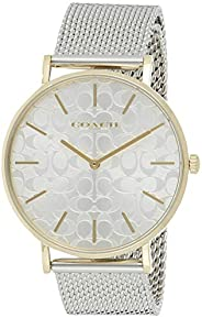 Coach Women's Silver Dial Stainless Steel Watch - 1450