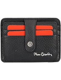 27cc334884 Portafoglio uomo PIERRE CARDIN nero pelle tasca porta carte di credito VA101