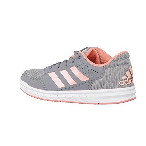 Alta grau Sportlicher Adidas Sport Schnürhalbschuh Ba9547 Mädchen Boden K Grau aqgzx1