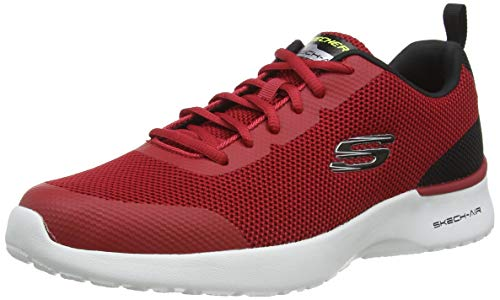 Skechers Herren Skech-air Dynamight Sneaker, Blau (Redl Knit/Synthetic/Black Trim Rd Bk), 44 EU