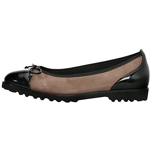 Gabor Womens 53.100.12 Tentation Chaussures Galets/noir Kiesel