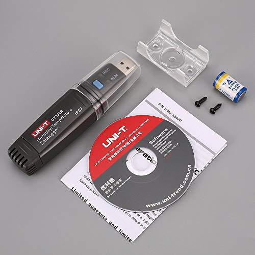 UNI-T UT330B USB Luftfeuchtigkeit Temperatur Recorder TEMP/RH Datenlogger Thermometer Hygrometer Feuchtigkeit Tester Meter -40 ℃ ~ 80 ℃