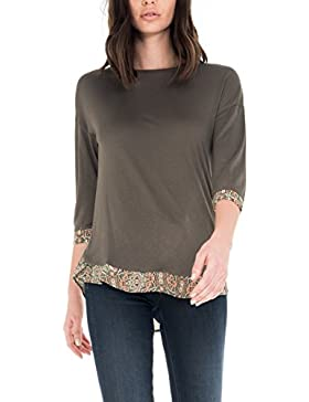SALSA Camiseta de manga larga Regular con estampado