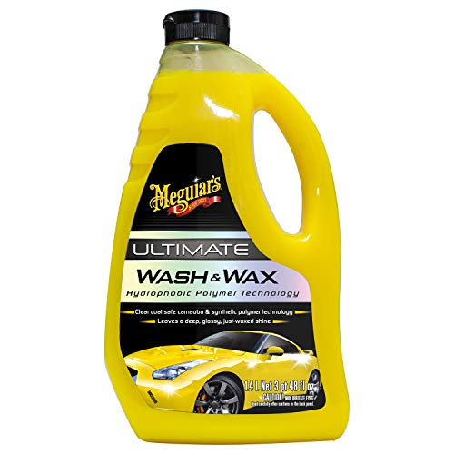 Meguiar's G17748EU Ultimate Wash & Wax Autoshampoo, 1420ml