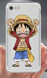Coquefone Coque iPhone 7 et iPhone 8 Luffy Content One Piece
