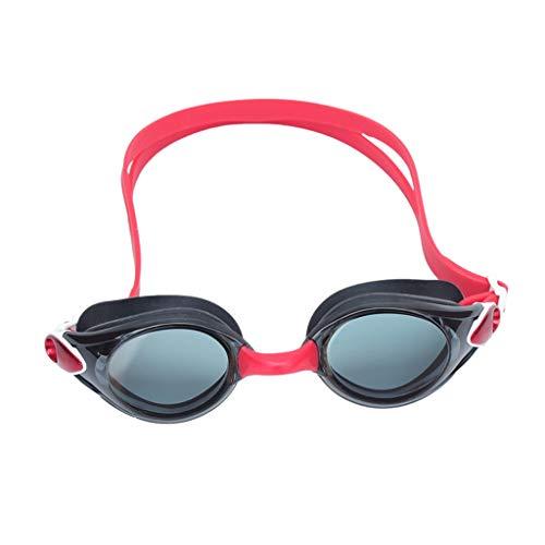 Schwimmbrille Goggles HD Männer und Frauen Schwimmbrille transparent wasserdicht Anti-Fog-Mode-Stil Silikon ZHJING