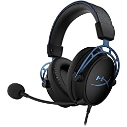 HyperX HX-HSCAS-BL/WW Cloud Alpha S - Casque Gaming avec son Surround HyperX Virtual 7.1 et réglage ajustable des basses