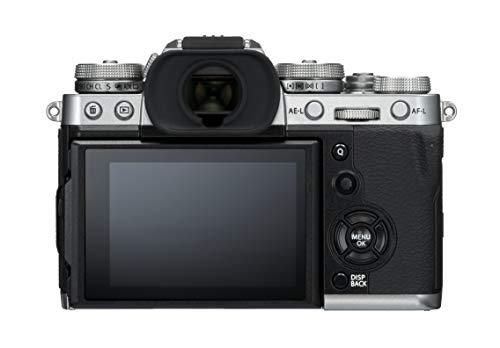 """Fujifilm X-T3 Fotocamera Digitale, 26 MP, Sensore X-Trans CMOS 4 APS-C, Filmati 4K 60p 10bit, HDMI Out 4:2:2, Mirino EVF 3.69 MP, Schermo LCD 3"""" Touch Orientabile, Argento"""