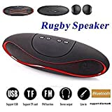 Easypro™ All Leading Smartphone Compatible MINI Bluetooth Multimedia Speaker System With FM / Pen Drive / Micro-SD - Rugby Mini X1521