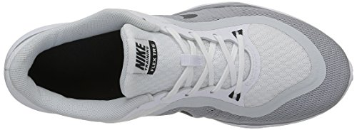 Nike WMNS Flex Trainer 6 - Sneakers Donna Bianco (Blanco (White / Anthrct-Pr Pltnm-Wlf Gry))