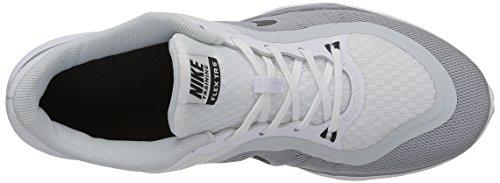 Nike Damen Wmns Flex Trainer 6 Hallenschuhe, Talla Blanco (White / Anthrct-Pr Pltnm-Wlf Gry)