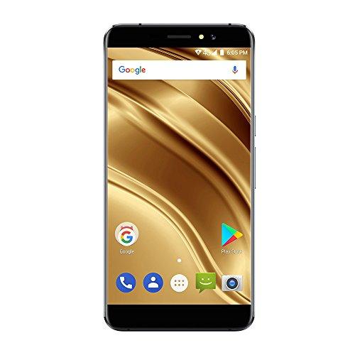 Ulefone S8 Pro - 5,3 Zoll 4G FDD-LTE Smartphone, Android 7.0 Quad Core 2GB+16GB, Dual Hinten Kameras 13MP+5MP & Front Kamera 5MP, Dual SIM, Rückseite Fingerabdruck Scanner, Unlocked Handy, Schwarz (Apple I Phone 4s Entsperren)