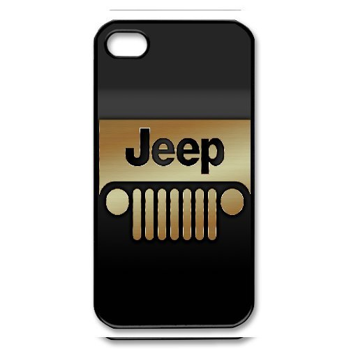 iPhone 4/4S Phone Case Top Design Jeep Wrangler Logo JP300092
