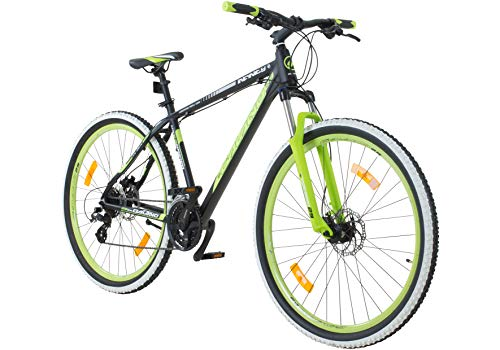 Galano 29 Zoll MTB Infinity Mountainbike Scheibenbremsen Shimano (schwarz/grün)