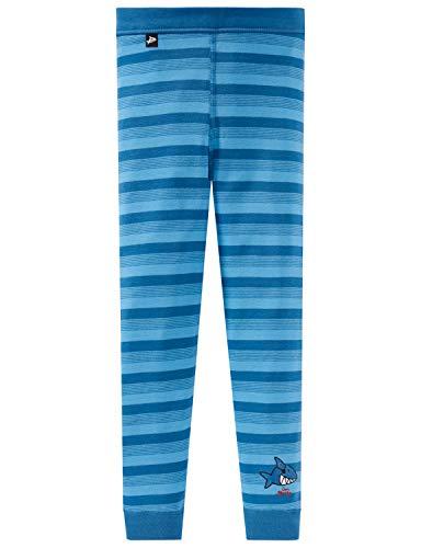 Schiesser Jungen Unterhose Lang Slip, Blau (Blau 800), 104