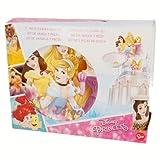 Set di 3pezzi in ceramica, Ciotola, piatto dessert, tazza) Princess Live Your Dreams