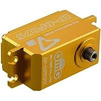 rcomgs d3-lp-bf07s All Metal sin escobillas bajo perfil servo aplicables para la r/c coche y a la deriva timón (1: 10) y R/C Helis Lock cola (700Series y más grandes) oro