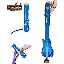 Accesorio para perros. Kanxeto es el recogedor plegable ideal para recoger los excrementos de tu perro. Con este accesorio para mascotas recogerás la caca de perro con tus bolsas higiénicas. Es el recogedor de excrementos para perros más eficaz