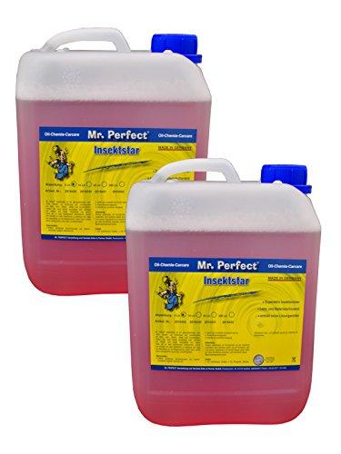 Mr. Perfect Insektstar Insektenentferner, 2x 5L - Insektenreiniger für alle Lacke