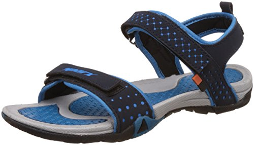 Sparx Women's Navy Blue and Turkey Blue Athletic and Outdoor Sandals - 4 UK/India (37 EU)(SS0803)  available at amazon for Rs.639