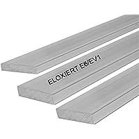 Aluminium Flachmaterial Flach Flachstange Eloxiert Silber Matt 15x2,0 mm 1000mm