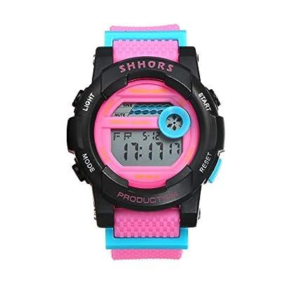 LANCARDO-Sportuhr-Chronograph-mit-Licht-Multifunktions-Alarm-digitales-Armband-verstellbares-Armband-aus-Kunststoff-fr-Outdoor-Sportarten-Geschenk-fr-Herren-Damen-Paar