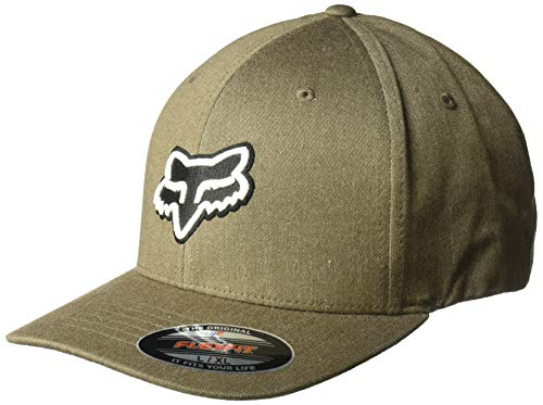 Fox Herren Transfer Flexfit Hat Baseball Cap, bark, Small/Medium
