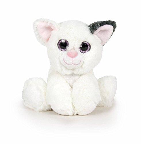 Famosa Softies Peluche Nature Mini Gatito, Color Blanco (760015960)