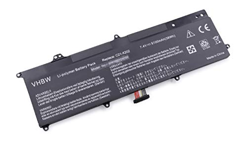 Vhbw Batteria 5100mAh (7.4V) per Notebook Laptop