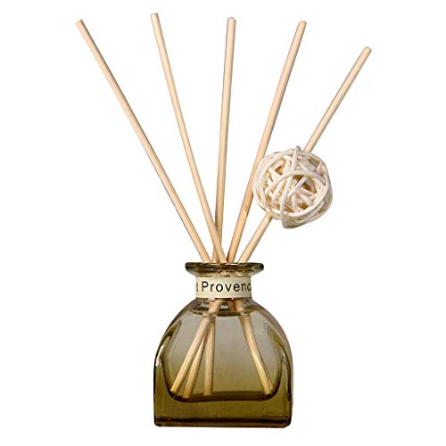 Moserian Reed Oil Diffusers mit Natural Sticks, Glasflasche und Duftöl 35ML
